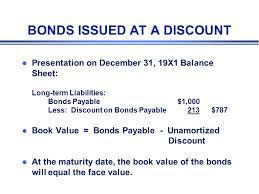 discount on bonds payable balance sheet bond l a written promise wherein the borrower promises to pay to the
