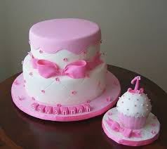 1st Birthday Cake Girl Minnie Mouse Freshbirthdaycakecf