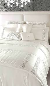 gallery of intelligent design everly white silver metallic 5 piece excellent and bedding awesome 3