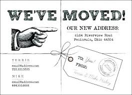 Change Of Address Template Free New Address Announcement Cards Best Moving Announcements Images On