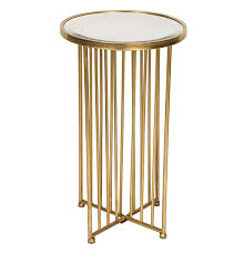 vintage side table mirrored top small round coffee tables luxury gold furniture