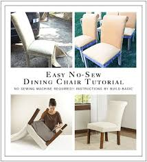 build basic buildbasic 4y 28 no sew dining chair tutorial and makeover by buildbasic you won t