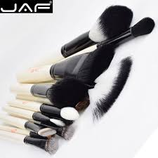 jaf 15 pcs foundation makeup brush kits set professional cosmetic beauty makeup brushes tools in eye shadow applicator from beauty health on