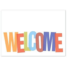 Welcome Card Templates Printable Welcome Cards Templates Design Card Template Id Psd