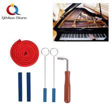 6 Pcs <b>Piano Tuning Tools</b> Kits Piano <b>Wrench</b> Musical Instruments ...
