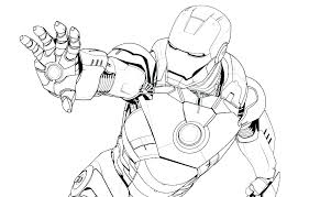 Iron Man Color Page Pictures To Print Coloring Pages Iron Man