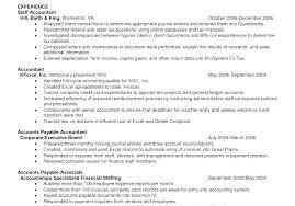 Accounts Payable Resume Examples Accounts Payable Processor Sample Resume Podarki Co