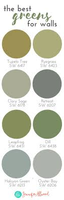 Best greens for walls | Paint Color Ideas | Farmhouse Greens | Interior  Paint Ideas |