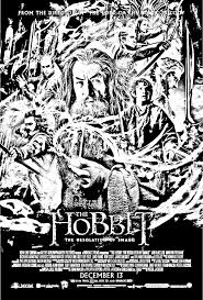 Free Coloring Page Coloring Movie Hobbit
