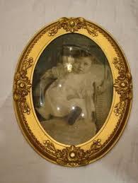 antique oval picture frames. Antique Art Nouveau Oval Frame With Bubble Glass Picture Frames