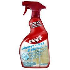 best cleaner for shower doors magic glass shower cleaner shower