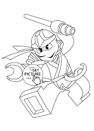Small Picture Zane Ninjago coloring pages for kids printable free Lego