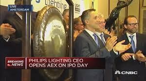 Philips Lighting Stock Market Philips Lighting Debuts On The Amsterdam Stock Exchange