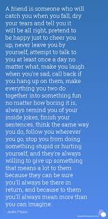 Long Quotes About Friendship