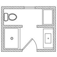 bathroom floor plans. Interesting Floor PLAN 13 Throughout Bathroom Floor Plans P