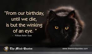 Yeats Quotes Extraordinary From Our Birthday Until We Die Is But The Winking Of An Eye