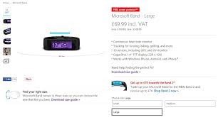 Microsoft Band Gets The Lowest Price Ever