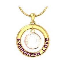 customized tree design gold name pendant gold pendants gold pendants for women zomint
