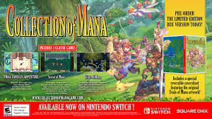 4.8 out of 5 stars 3,811. Collection Of Mana Switch Square Enix Store