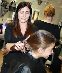 Ava loses locks to give to wig charity   Worcester News