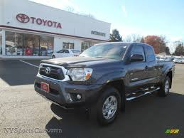 2013 Toyota Tacoma V6 SR5 Access Cab 4x4 in Magnetic Gray Metallic ...
