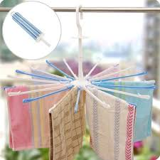 Umbrella Drying Rack Umbrella 100 Clip Child Clothes Hanger Plastic Baby Diapers Drying 41