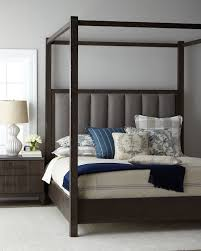 Hooker Furniture Liesel Tufted California King Canopy Bed | Neiman ...