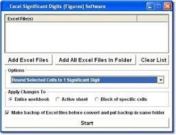 Excel Significant Digits Figures Software Download Reformat