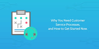 Another Way To Say Customer Service Why You Need Customer Service Processes And How To Get Started Now
