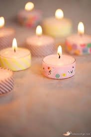 Craft Projects Using The T Light Candles 10 Fun Washi Tape Projects Candles Lanterns Lights