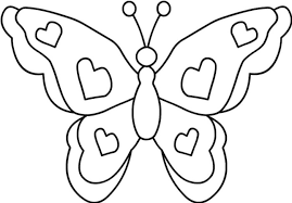 Small Picture Simple Butterfly Coloring Pages GetColoringPagescom Coloring Home