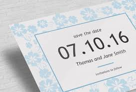 How To Make A Save The Date Card Custom Save The Date