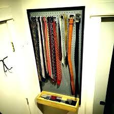 closet organizers small spaces necktie storage tie ideas closet organizer best images on organizing 0 down