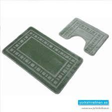 armoni sage green bath mat set