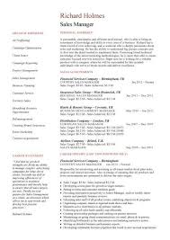 Gallery Of Sales Manager Cv Example Free Cv Template Sales