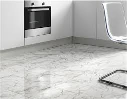 ... White Laminate Tile And Mm Carrara Marmor White Tile Floor Tile Effect  Laminate ... Good Looking