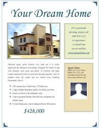 Home Flyers Template 14 Free Flyers For Real Estate Sell Rent Hloom