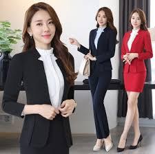 professional clothing plus size 4xl 5xl blazer office ladies uniform 2 pieces sets