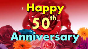 Happy Anniversary Happy 50th Anniversary Video Greeting Card