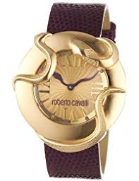 watches roberto cavalli watches for men and women roberto cavalli women s quartz watch r7251165528 leather strap b005kozp7e