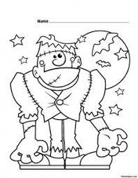 Small Picture halloween frankenstein printable coloring pages Printable