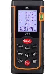 Лазерный <b>дальномер RGK D100</b> RGK 11181733 в интернет ...