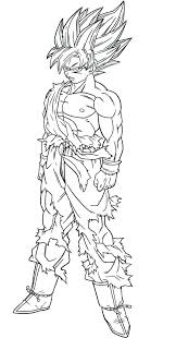 Nice Decoration Dbz Coloring Pages Free Printable Dragon Ball Z