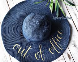 floppy office. out of the office floppy hat personalized beach