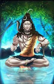 Lord Shiva in 3d in creative art ...