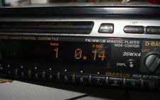 mdx 5970 sony mdx c5970r md receiver mini disc minidisc autoradio rds 4 x 35 watt