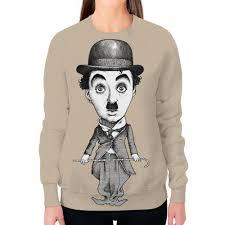 """Свитшот женский с полной запечаткой """"<b>Charlie Chaplin</b> ..."""