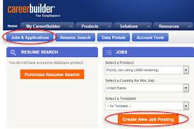 Employment Website Career Builder Post A Job Jobs