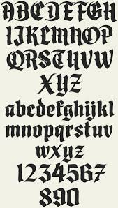 black letter font letterhead fonts lhf divine blackletter fonts