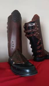 leather star lord boot covers gaiters guardians of the galaxy